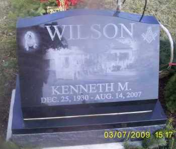 WILSON, KENNETH M. - Ross County, Ohio   KENNETH M. WILSON - Ohio Gravestone Photos