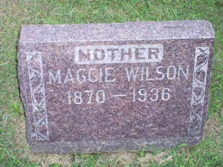WILSON, MAGGIE - Ross County, Ohio | MAGGIE WILSON - Ohio Gravestone Photos