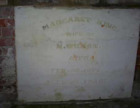 KING WILSON, MARGARET - Ross County, Ohio   MARGARET KING WILSON - Ohio Gravestone Photos