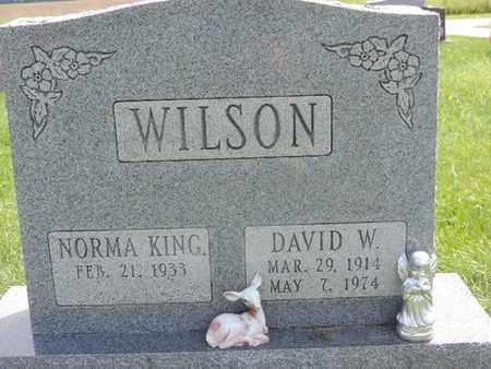 WILSON, NORMA - Ross County, Ohio | NORMA WILSON - Ohio Gravestone Photos