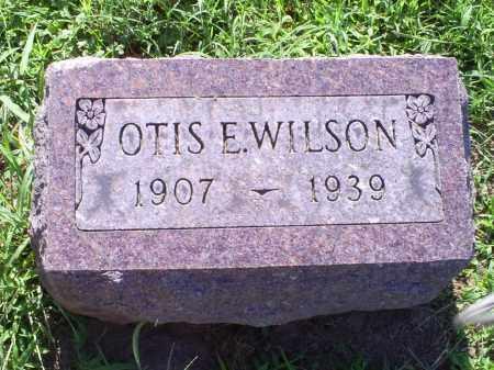 WILSON, OTIS E. - Ross County, Ohio   OTIS E. WILSON - Ohio Gravestone Photos