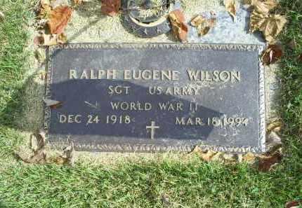 WILSON, RALPH EUGENE - Ross County, Ohio | RALPH EUGENE WILSON - Ohio Gravestone Photos