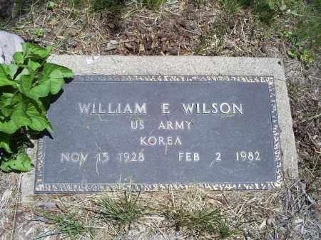 WILSON, WILLIAM E. - Ross County, Ohio | WILLIAM E. WILSON - Ohio Gravestone Photos
