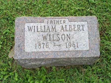 WILSON, WILLIAM ALBERT - Ross County, Ohio   WILLIAM ALBERT WILSON - Ohio Gravestone Photos