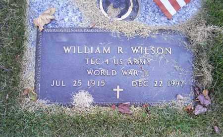 WILSON, WILLIAM R. - Ross County, Ohio | WILLIAM R. WILSON - Ohio Gravestone Photos