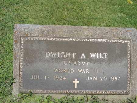 WILT, DWIGHT A. - Ross County, Ohio | DWIGHT A. WILT - Ohio Gravestone Photos