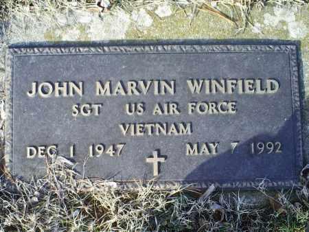 WINFIELD, JOHN MARVIN - Ross County, Ohio | JOHN MARVIN WINFIELD - Ohio Gravestone Photos