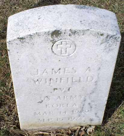 WINFIELD, JAMES A. - Ross County, Ohio | JAMES A. WINFIELD - Ohio Gravestone Photos