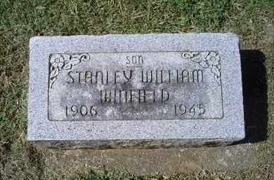 WINFIELD, STANLEY WILLIAM - Ross County, Ohio | STANLEY WILLIAM WINFIELD - Ohio Gravestone Photos