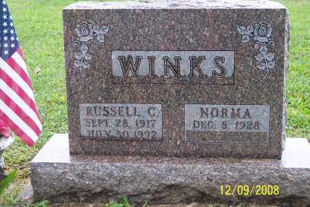 WINKS, RUSSELL C - Ross County, Ohio | RUSSELL C WINKS - Ohio Gravestone Photos