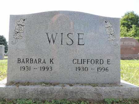 WISE, BARBARA K. - Ross County, Ohio | BARBARA K. WISE - Ohio Gravestone Photos