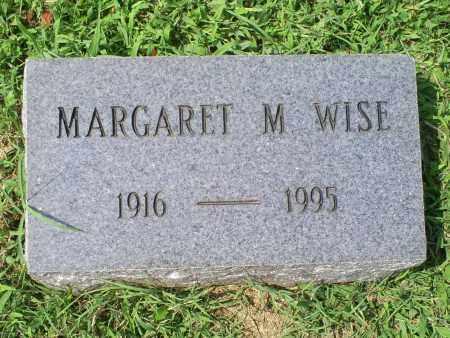 WISE, MARGARET M. - Ross County, Ohio   MARGARET M. WISE - Ohio Gravestone Photos