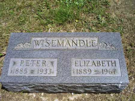 WISEMANDLE, ELIZABETH - Ross County, Ohio | ELIZABETH WISEMANDLE - Ohio Gravestone Photos