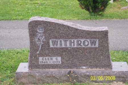 WITHROW, GLEN C. - Ross County, Ohio   GLEN C. WITHROW - Ohio Gravestone Photos