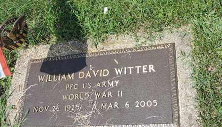 WITTER, WILLIAM DAVID - Ross County, Ohio   WILLIAM DAVID WITTER - Ohio Gravestone Photos