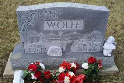 HERTENSTEIN WOLFE, LOUISE - Ross County, Ohio | LOUISE HERTENSTEIN WOLFE - Ohio Gravestone Photos