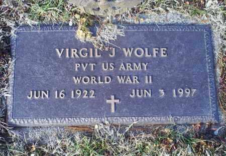 WOLFE, VIRGIN J. - Ross County, Ohio   VIRGIN J. WOLFE - Ohio Gravestone Photos