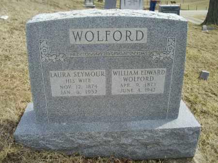 SEYMOUR WOLFORD, LAURA - Ross County, Ohio | LAURA SEYMOUR WOLFORD - Ohio Gravestone Photos