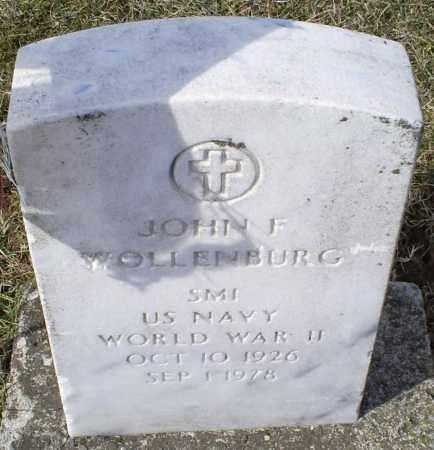 WOLLENBURG, JOHN F. - Ross County, Ohio | JOHN F. WOLLENBURG - Ohio Gravestone Photos
