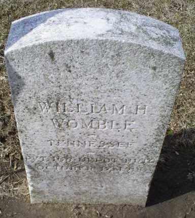 WOMBLE, WILLIAM H. - Ross County, Ohio | WILLIAM H. WOMBLE - Ohio Gravestone Photos