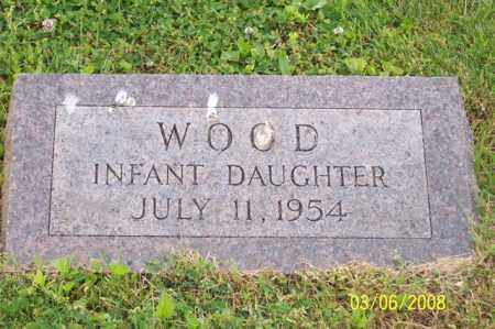 WOOD, INFANT DAUGHTER - Ross County, Ohio | INFANT DAUGHTER WOOD - Ohio Gravestone Photos