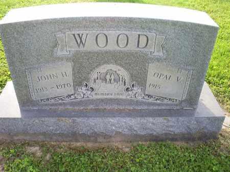 WOOD, JOHN H. - Ross County, Ohio | JOHN H. WOOD - Ohio Gravestone Photos