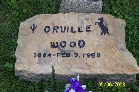 WOOD, ORVILLE - Ross County, Ohio   ORVILLE WOOD - Ohio Gravestone Photos