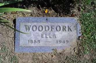 WOODFORK, ELLA - Ross County, Ohio   ELLA WOODFORK - Ohio Gravestone Photos