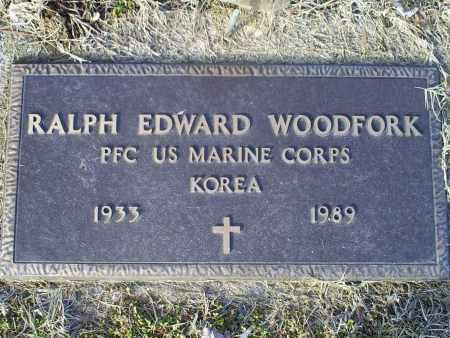 WOODFORK, RALPH EDWARD - Ross County, Ohio | RALPH EDWARD WOODFORK - Ohio Gravestone Photos