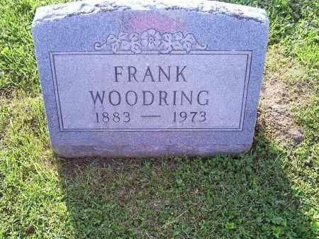 WOODRING, FRANK - Ross County, Ohio | FRANK WOODRING - Ohio Gravestone Photos