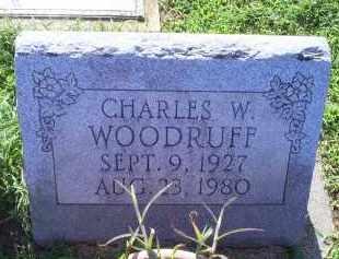 WOODRUFF, CHARLES W. - Ross County, Ohio   CHARLES W. WOODRUFF - Ohio Gravestone Photos