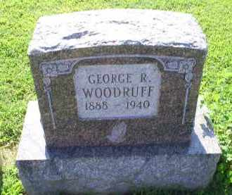 WOODRUFF, GEORGE R. - Ross County, Ohio | GEORGE R. WOODRUFF - Ohio Gravestone Photos