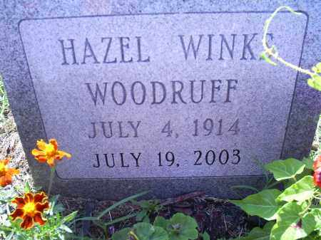 WINKS WOODRUFF, HAZEL - Ross County, Ohio | HAZEL WINKS WOODRUFF - Ohio Gravestone Photos