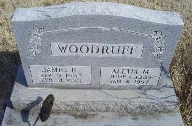 WOODRUFF, ALETIA M. - Ross County, Ohio | ALETIA M. WOODRUFF - Ohio Gravestone Photos