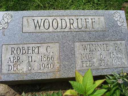 WOODRUFF, WINNIE P. - Ross County, Ohio   WINNIE P. WOODRUFF - Ohio Gravestone Photos
