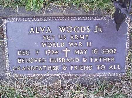 WOODS, ALVA JR. - Ross County, Ohio | ALVA JR. WOODS - Ohio Gravestone Photos