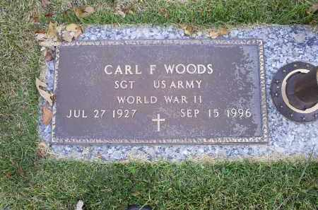WOODS, CARL F. - Ross County, Ohio   CARL F. WOODS - Ohio Gravestone Photos