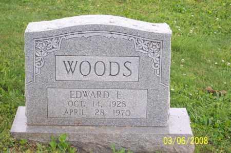 WOODS, EDWARD E. - Ross County, Ohio   EDWARD E. WOODS - Ohio Gravestone Photos