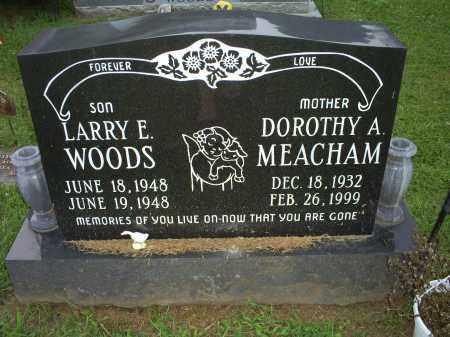 MEACHAM, DOROTHY A. - Ross County, Ohio   DOROTHY A. MEACHAM - Ohio Gravestone Photos