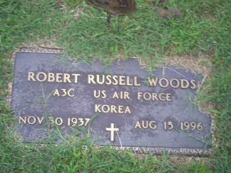 WOODS, ROBERT RUSSELL - Ross County, Ohio | ROBERT RUSSELL WOODS - Ohio Gravestone Photos