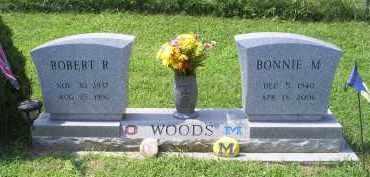 WOODS, BONNIE M. - Ross County, Ohio   BONNIE M. WOODS - Ohio Gravestone Photos