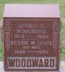DAVIS WOODWARD, BESSIE M. - Ross County, Ohio | BESSIE M. DAVIS WOODWARD - Ohio Gravestone Photos