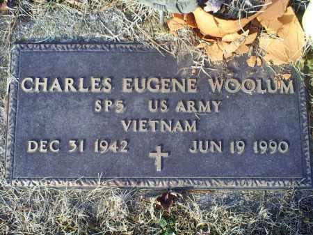 WOOLUM, CHARLES EUGENE - Ross County, Ohio | CHARLES EUGENE WOOLUM - Ohio Gravestone Photos