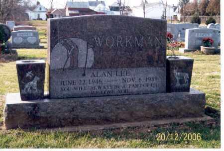 WORKMAN, ALAN LEE - Ross County, Ohio | ALAN LEE WORKMAN - Ohio Gravestone Photos