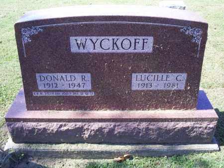 WYCKOFF, DONALD R. - Ross County, Ohio | DONALD R. WYCKOFF - Ohio Gravestone Photos