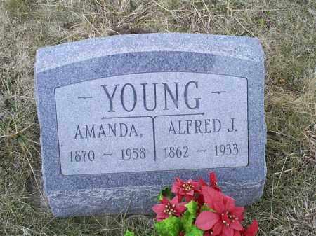 YOUNG, AMANDA - Ross County, Ohio | AMANDA YOUNG - Ohio Gravestone Photos