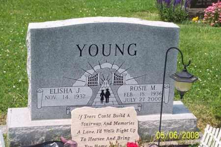 YOUNG, ROSIE M. - Ross County, Ohio | ROSIE M. YOUNG - Ohio Gravestone Photos