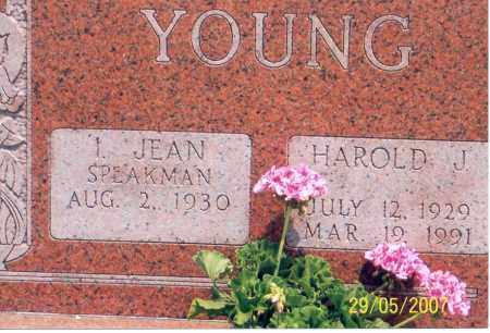 SPEAKMAN YOUNG, I. JEAN - Ross County, Ohio | I. JEAN SPEAKMAN YOUNG - Ohio Gravestone Photos