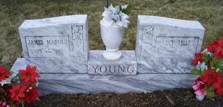 YOUNG, LUCY BELLE - Ross County, Ohio | LUCY BELLE YOUNG - Ohio Gravestone Photos