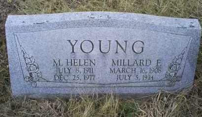 YOUNG, MILLARD E. - Ross County, Ohio | MILLARD E. YOUNG - Ohio Gravestone Photos
